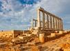Ruines van de tempel van Poseidon
