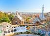 Uitzicht Barcelona vanaf Park Güell