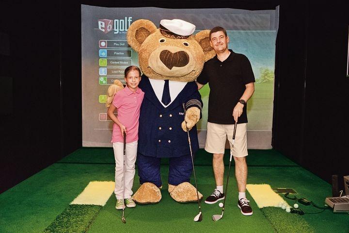 Golf & Cruise voor kinderen op de Europa 2
