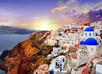Zonsondergang Santorini