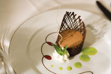 Dessert bij Regent Seven Seas