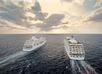 Schepen Regent Seven Seas op zee