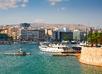 Boten in de jachthaven van Piraeus