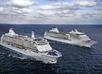 Twee schepen op zee