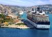 Cruisehaven met Dubrovnik op de achtergrond