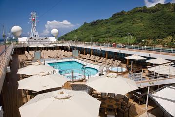 Zwembaddeck Voyager Regent Seven Seas