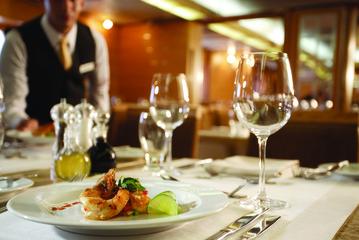 Restaurant aan boord Silversea