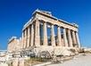Parthenon in Akropolis, Athene