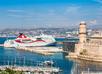 Cruiseschip in Le Vieux Port