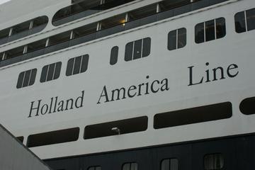 Buitenkant schip Holland America Line