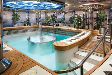 Hydrotherapy pool ms Eurodam