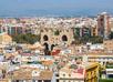 Luchtfoto van Valencia