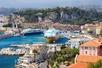 Cruiseschip in de haven van Nice