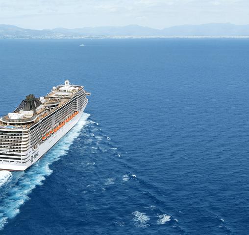 Opdracht voor 4 nieuwe schepen MSC Cruises